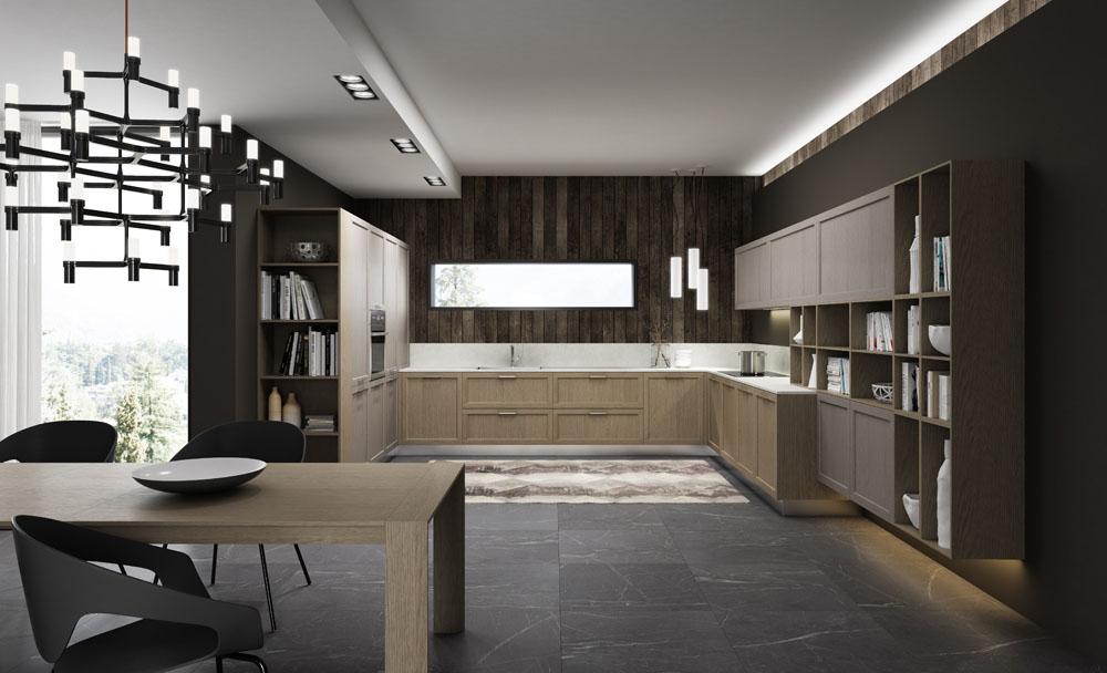cucina gentili modello time impiallacciato a Prato