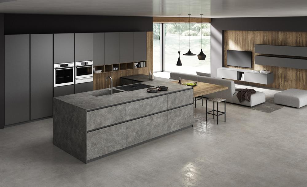 cucina gentili modello time alluminio a Prato
