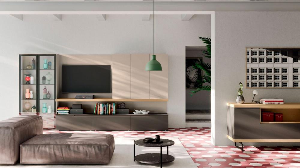 varie composizioni pareti soggiorno