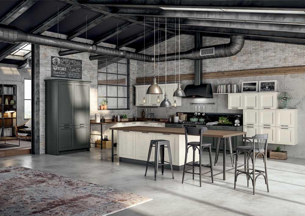 cucina gentili modello village decape' a Prato